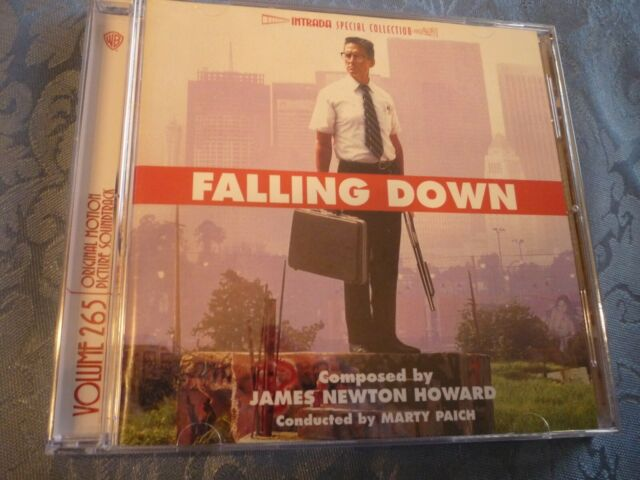Falling Down Soundtrack CD, James Newton Howard, Intrada, Special Collection 265