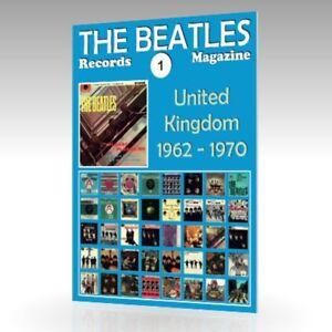 The-Beatles-registros-Revista-N-1-Reino-Unido-1962-1970-a-todo-color