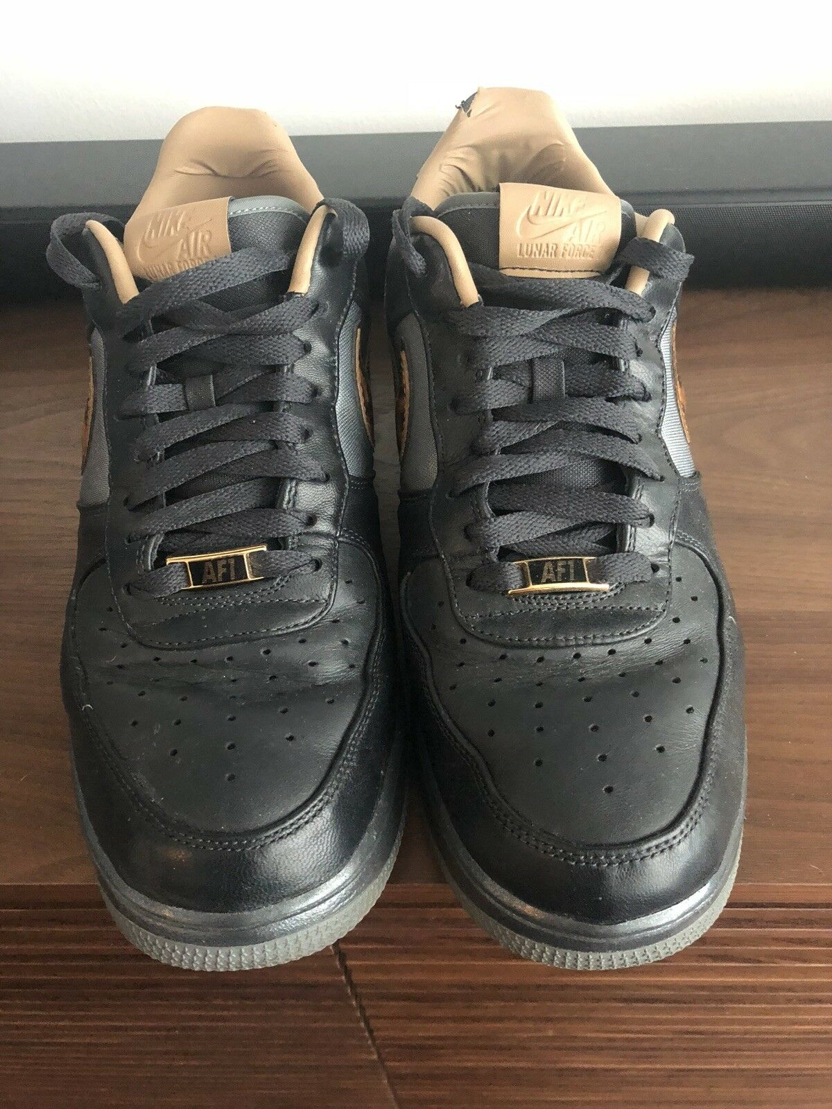 Nike Lunar Force 1 City QS (mens 10.5) Milan City Pack Exclusive Collection Fire
