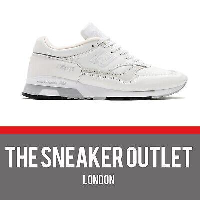 Mens New Balance 1500 WG White Leather UK Size 9.5 Trainers | eBay