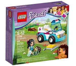 LEGO-Friends-41086-Mobile-Tierpflege-NEU-OVP-Vet-Ambulance-NEW-MISB-41125