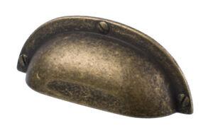 Cup-Handle-Brass-Bronze-Antique-Effect-Cupboard-Kitchen-Bedroom-Door-Pull-64mm
