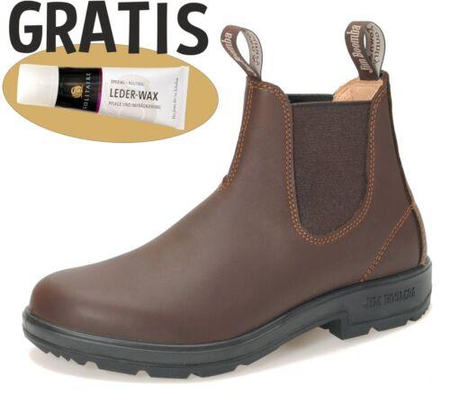 Lederwax Chestnut Jim Boomba Boots Stiefel UNISEX Reiten Freizeit Hund Büro