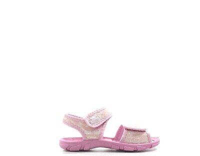 Accurato Scarpe Frozen Bambini Sandali Bassi Rosa Tessuto Fros21477z.ro.01 Essere Accorti In Materia Di Denaro