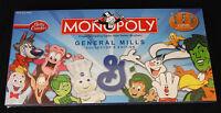 Monopoly: General Mills Board Game Brand Sealed Rare Betty Crocker