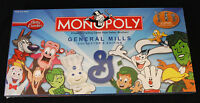 Monopoly: General Mills Board Game Brand Sealed Rare Betty Crocker