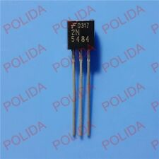 5PCS  RF/VHF/UHF JFET Transistor FAIRCHILD/SILICONIX/VISHAY TO-92 2N5484