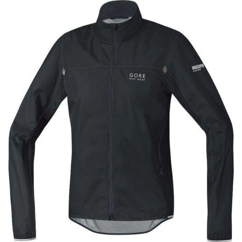 Gore Bike Wear Alp-X comme lumière Windstopper Veste de vélo Noir Gris Rrp â £ 139,99
