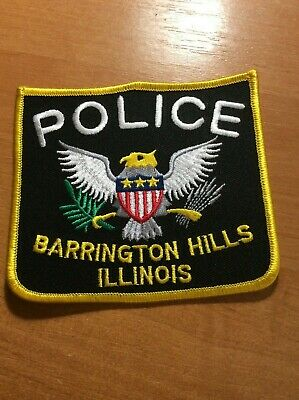 new style ORLAND HILLS VILLAGE ILLINOIS IL POLICE PATCH