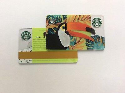 Geschenkkarte Starbucks Deutschland # 6151 mini Toucan Starbucks Karte