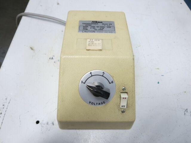 Nikon  Model Xn  Transformer  In  60 Hz 30 W