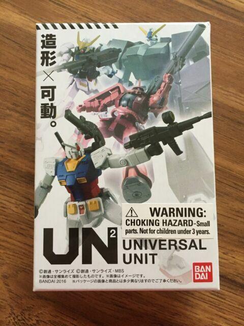 LOT OF 2 BRAND NEW DX GUNDAM Figure Universal Unit UN2 Loot Crate