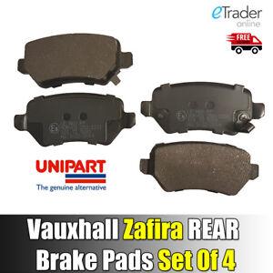 Vauxhall-Zafira-1999-2015-Rear-Brake-Pads-Set-Disc-Pad-X-4-NEW-inc-CDTi