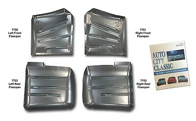 Works With 1959 1960 Chevrolet Impala Bel Air Biscayne TOE BOARDS NEW PAIR!! Motor City Sheet Metal