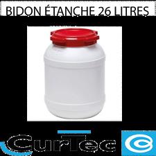 BARIL ETANCHE 26 litres Curtec.
