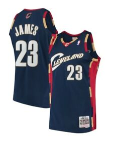 Image is loading Lebron-James-23-Cleveland-Cavaliers-Mitchell-amp-Ness- 0af6922ee