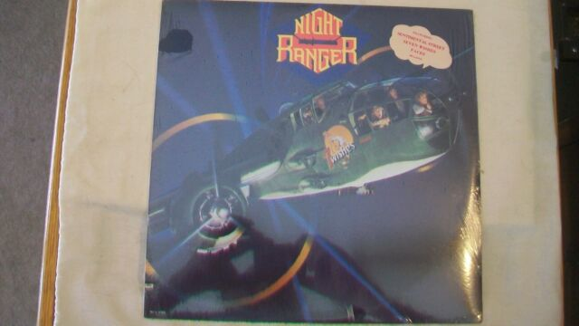 7 Wishes [LP] by Night Ranger (Vinyl, MCA Records USA) # MCA-5593 from 1985