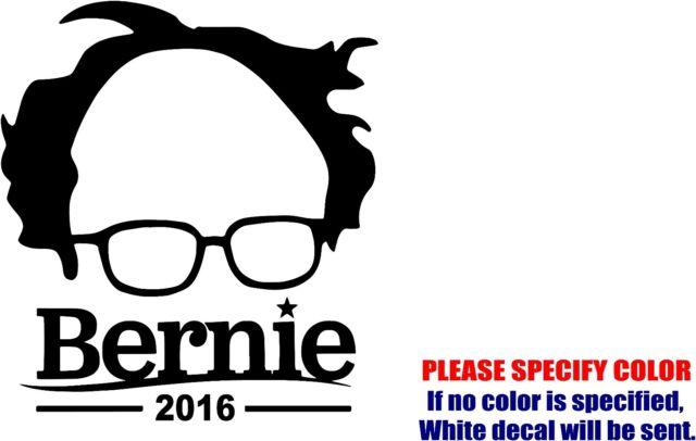 Bernie Sanders 2016 Vinyl Decal Bumper Wall Laptop Window Sticker 5
