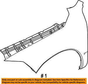 CHRYSLER-OEM-Fender-Right-68054338AI