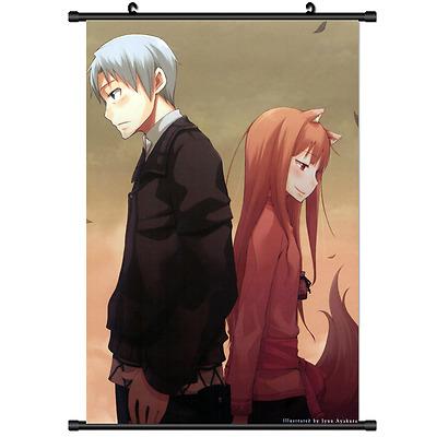 Ookami to Koushinryou Horo Anime  Wall Poster Scroll Room Decor