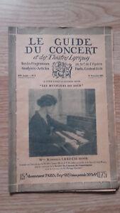 El-Guia-de-La-Concierto-Y-Las-Teatro-Letra-Christie-Moor-N-8-1927