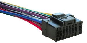 alpine wiring harness stereo 16 pin wire connector a16a ebay rh ebay com
