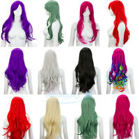 Long Curly Fashion Cosplay Costume Party Hair Anime Wigs Full Hair Wavy Wig 65cm