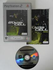 TOM CLANCY'S SPLINTER CELL - PLAYSTATION 2 - JEU PS2 PLATINUM COMPLET