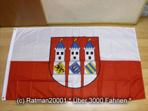 90 x 150 cm Fahne Flagge Bad Langensalza Premium