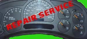 2003 Instrument Cluster Repair Chevrolet Avalanche