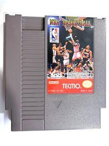 Tecmo NBA Basketball - Authentic Nintendo NES Game Tested + Working!