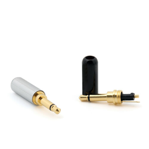 10 X Copper Vergoldet 3.5mm Mono Mini Jack Plug Stecker L?ten Steckverbinder AH