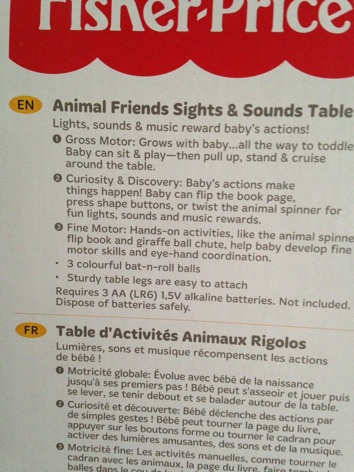 Fisher Price Lights Animal Friends Music And Lights Price Activity Table fa5b3b