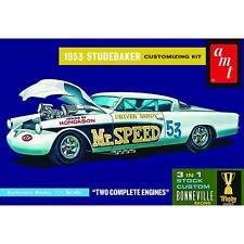 AMT 1/25 1953 Studebaker Starliner Mr. Speed 3 in 1 Plastic Model Kit 877 AMT877