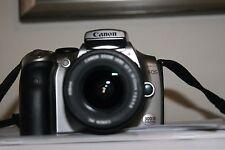 Fotocamera Canon EOS 300D reflex digitale + obiettivo 18-55 + scheda memoria