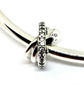 8142274e9 Image is loading Genuine-Authentic-Pandora-Galaxy-Spacer-Charm-S925-ALE