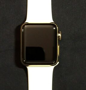 38mm-Apple-Watch-SERIES-2-18K-Gold-Plated-White-Sport-Band-Price-Drop