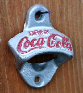 Antique style Coca Cola Cast Iron Collectable Bottle Opener