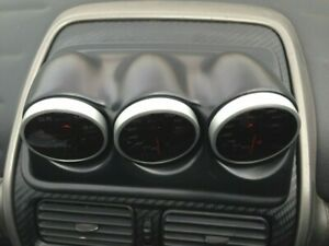 For Toyota Altezza Gauge Pod Dashboard Visor Dash Panel Unpainted 1998-2005 60mm
