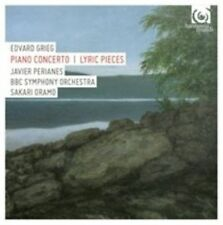 GRIEG: PIANO CONCERTO; LYRIC PIECES NEW CD