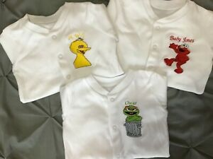 Gift//Keepsake Fast dispatch. Personalised Embroidered 1st Christmas Baby Grows