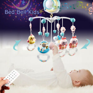 Baby-Bed-Bell-Kids-Crib-Musical-Mobile-Cot-Music-Box-Gift-Baby-Rattles-Toy-NEW
