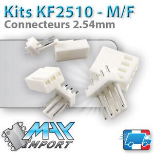 Connecteurs-KF2510-Male-Femelle-2-54mm-Lots-multiples-prix-degressif