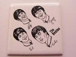 BEATLES-original-1963-Reino-Unido-Ceramica-Azulejo-proudholme