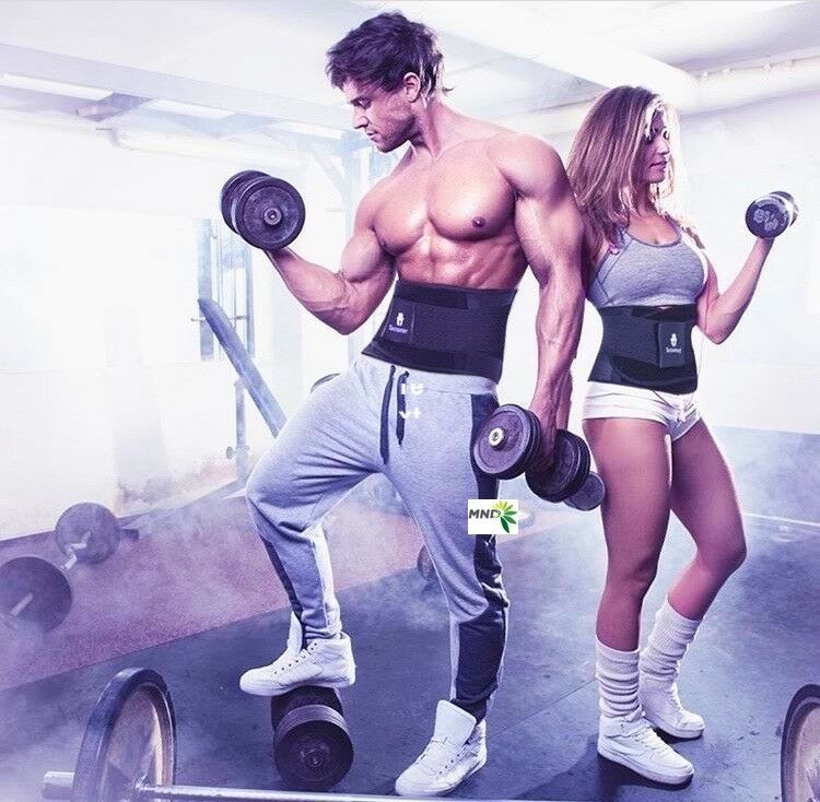 Xtreme Power Cincher Neoprene Waist Trainer Gym Belt Workout Tecnomed Shaper
