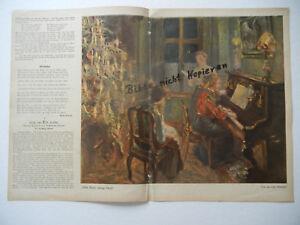 Humor Original Blatt Aus Der Zeitschrift Jugend 1907 Fritz Von Uhde b107