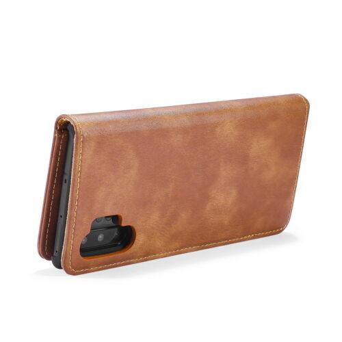 Cuero del zurriago MING Desmontable 2in 1 Billetera Estuche para Samsung Galaxy Note 10+ DG