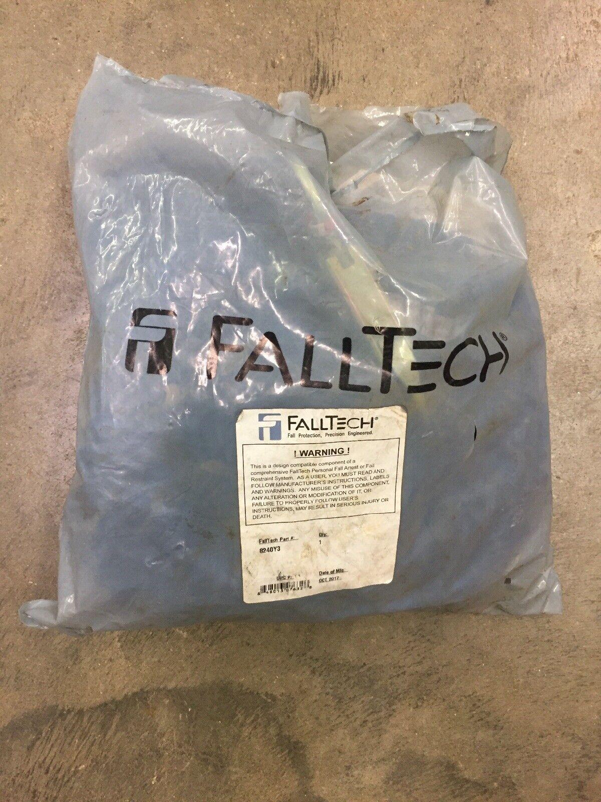 FallTech 8240Y3 ElasTech 6' Double Lanyard Steel Hooks 100% Tie-Off New Y-LEG