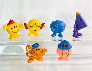 Rude Toy Figures McDonald/'s 2020 Mr Men /& Little Miss Little Miss Splendid /& Mr
