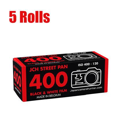 5x Bergger pancro 400 120 negro blanco película roll película 07//2022